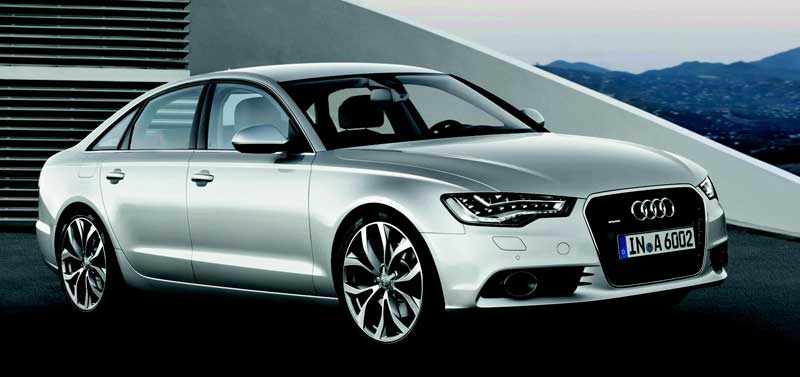 la nouvelle audi a6 de 2011. Black Bedroom Furniture Sets. Home Design Ideas
