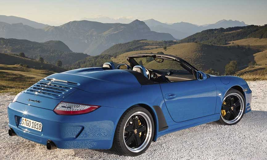 Nouvelle Porsche 911 Speedster